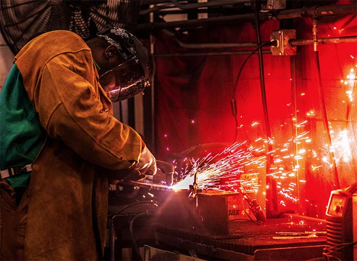 Welding Classes at ETI