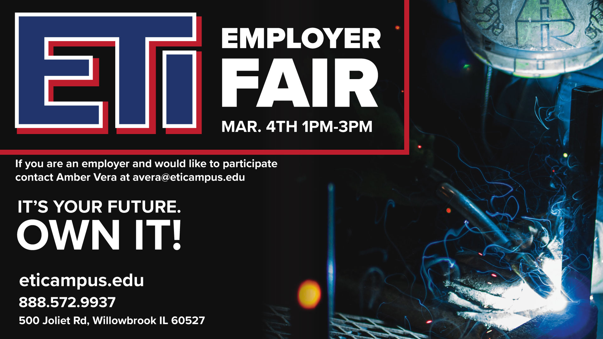 ETI Employer Fair March 4th, 2020
