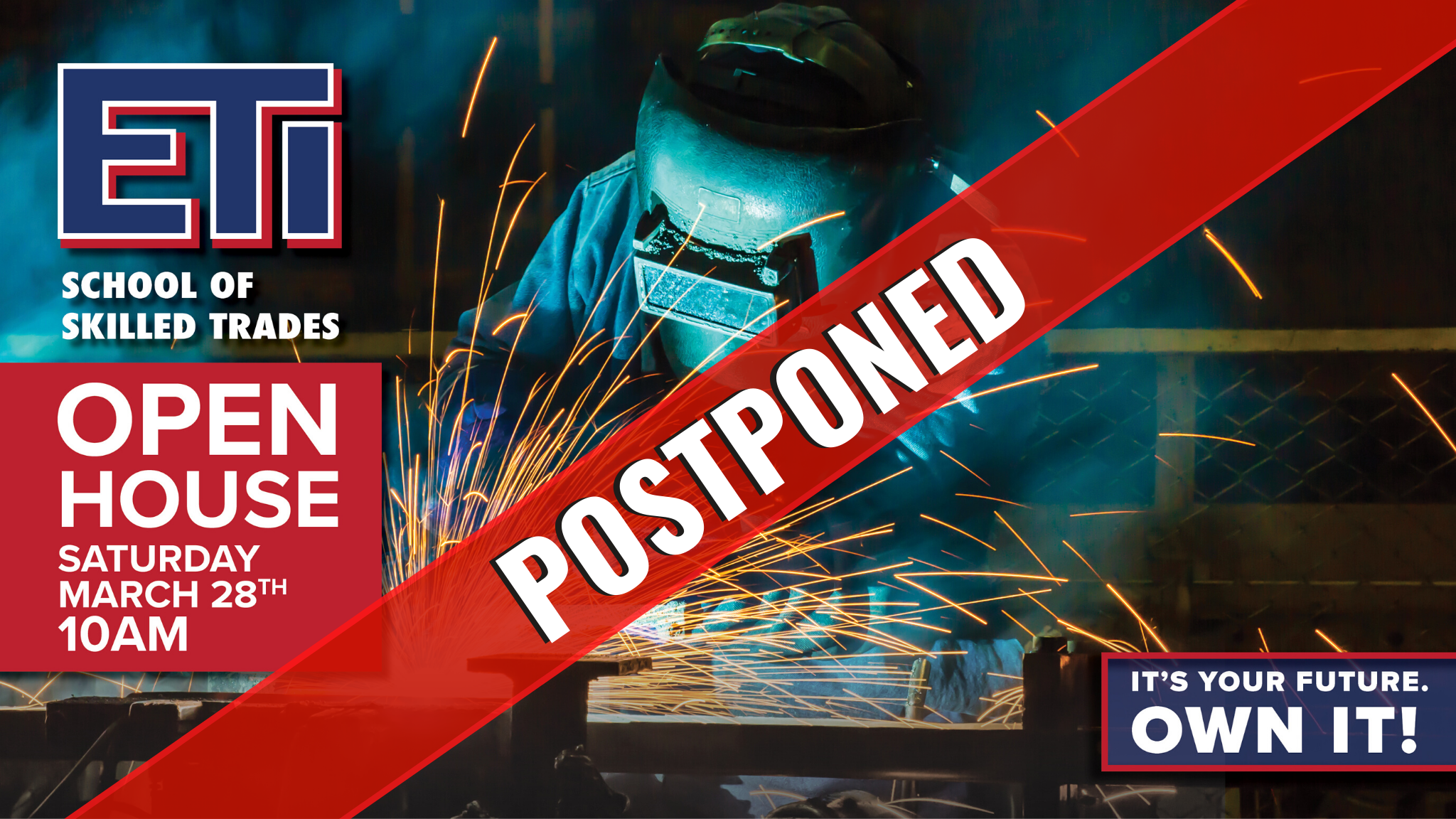 ETI March 2020 Open House - Postponed