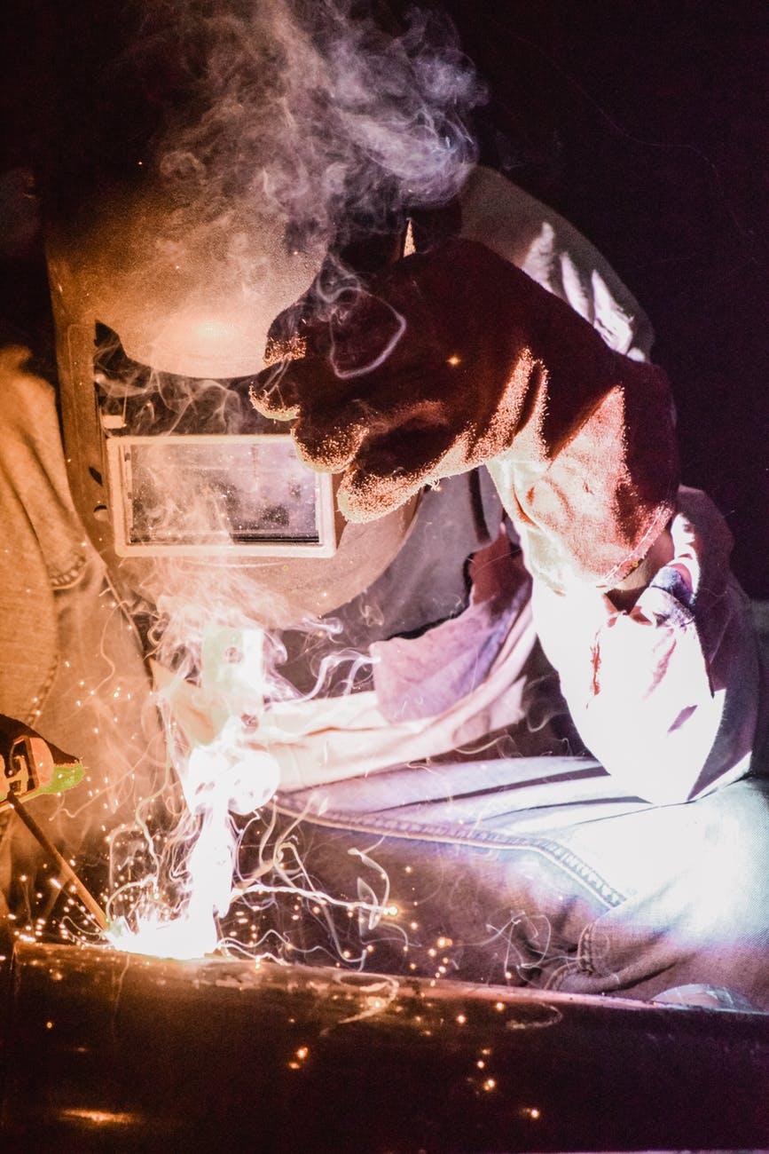 Welder welding. Is Welding the Right Career for You?